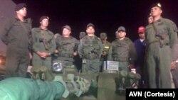 Esta es la primera de cuatro entregas de equipos militares que recibirá Venezuela de China.