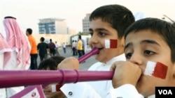 En Qatar la fiesta del mundial ya se encuentra en las calles del país. Este será el primer mundial a disputarse en el mundo árabe.