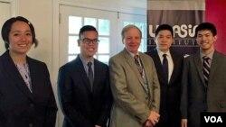 นักศึกษาไทย-อเมริกาโครงการ TANIP ที่ได้รับคัดเลือก แฝึกประสบการณ์กับองค์กรทางการเมืองและการศึกษาหลายแห่งในกรุงวอชิงตัน