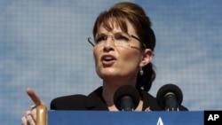 Sarah Palin tijekom predsjedničke izborne kampanje 2008.