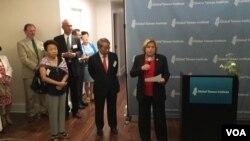 众议院外交委员会荣誉主席罗斯雷提南在全球台湾研究中心酒会致辞