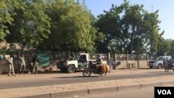 Un quartier de Ndjamena, la capitale tchadienne, le 6 décembre 2016.