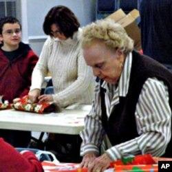 Marywood Apartments for Seniors in Manassas' Margaret Burkland says 'Be a Santa for a Senior program' makes seniors feel they are not forgotten