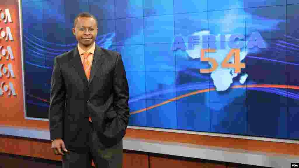 Vincent Makori anchors the news magazine Africa 54 for VOA's English to Africa Service. He has traveled extensively as a journalist, covering world summits and interviewing people ranging from African Presidents to a Ugandan who provides a home for orphaned children.