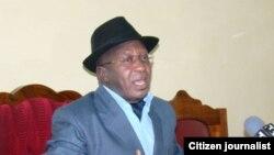 Waziri wa uchukuzi wa Tanzania Dr. Harisson Mwakyembe.