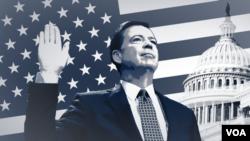 Mantan Direktur FBI, James Comey, akan bersaksi hari Kamis tentang interaksinya dengan Presiden Donald Trump.