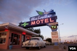 Tucumcari's Blue Swallow motel