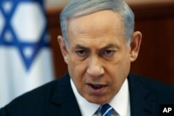 FILE - Israel's Prime Minister Benjamin Netanyahu and his government are fighting back against a boycott.