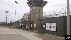 Ulaz u zatvor u zalivu Gvantanamo