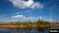 Des fusées au Centre spatial Kennedy à Cape Canaveral, en Floride