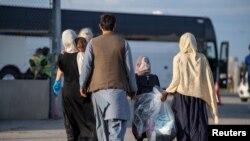 افغان مہاجرین کی کینیڈا میں آمد۔ 24 اگست 2021ء کی تصویر