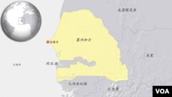 塞内加尔地图