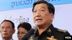 Đại tướng Sirichai nói rằng vụ tháo chạy của người lao động nhập cư là một sự hiểu lầm giữa đôi bên.