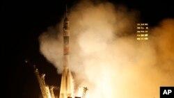 Peluncur roket Soyuz milik Rusia. (Foto: Ilustrasi)