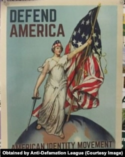 Flier promoting White Supremacy at California Polytechnic State University, Obtained by ADL May 2019