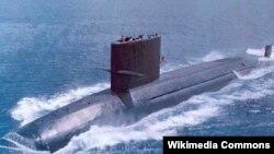 台湾有兴趣向美国购买潜水艇,这是其中的一种(白鱼级潜艇)(照片来源:维基百科)