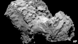 Rosetta's OSIRIS narrow-angle camera Comet 67P/Churyumov-Gerasimenko, August 3, 2014.