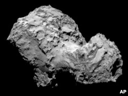Rosetta's OSIRIS narrow-angle camera Comet 67P/Churyumov-Gerasimenko, Aug. 3, 2014.