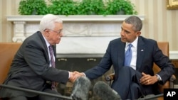 Президенти Махмуд Аббас і Барак Обама (архівне фото)