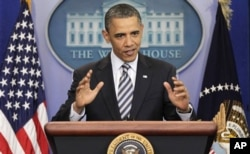 Le président Obama parlant de la controverse sur son certficat de naissance