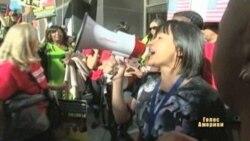 Демонстранти блокували порт у США