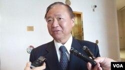 台湾驻美副代表张大同(美国之音钟辰芳拍摄)