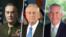 از راست وزرای خارجه، دفاع و رئیس ستاد مشترک ارتش آمریکا
