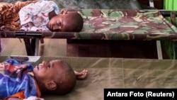 Badan urusan pangan PBB (WFP) memperkirakan 370 juta anak-anak terancam kekurangan pangan dan gizi akibat pandemi Covid-19 (foto: ilustrasi).