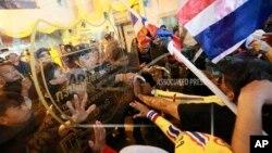 曼谷抗議者。