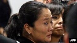 Keiko Fujimori llevaba más de un año en prisión mientras se investigaban acusaciones de lavado de dinero y corrupción en su contra.