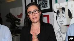 Angelita Muxfeldt, prima de Rodrigo Gularte