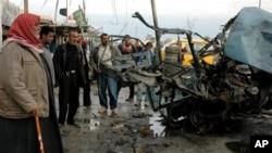 Serangan bom mobil mengguncang kota Mahmoudiya, 30 kilometer di selatan Baghdad (foto: dok).