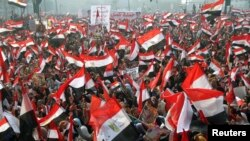 Government-led events on Cairo's Tahrir Square