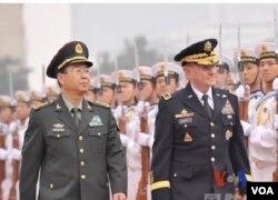 登普西與解放軍總參謀長房峰輝