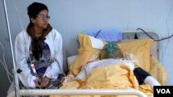 Qarabağ Müharibəsinin veteranı Zaur Həsənov ölməmişdən əvvəl 5 saylı klinikada