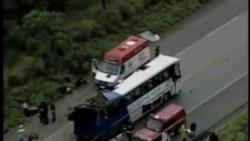 2012-03-18 粵語新聞: 巴西大巴車禍15人死亡