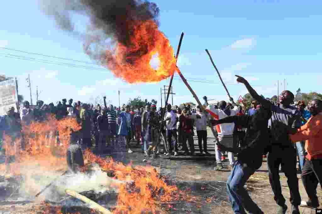 Zimbabwe Riots