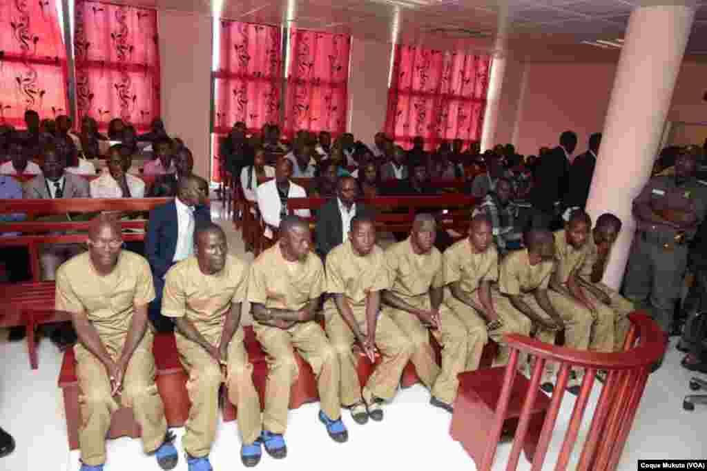 Caso Kalupeteca, Tribunal Provincial do Huambo, Angola