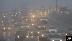 Туман в Техасе