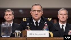 General Curtis Scaparrotti, komandant NATO snaga u Evropi na pretresu u Washingtonu, 8. marta 2019.