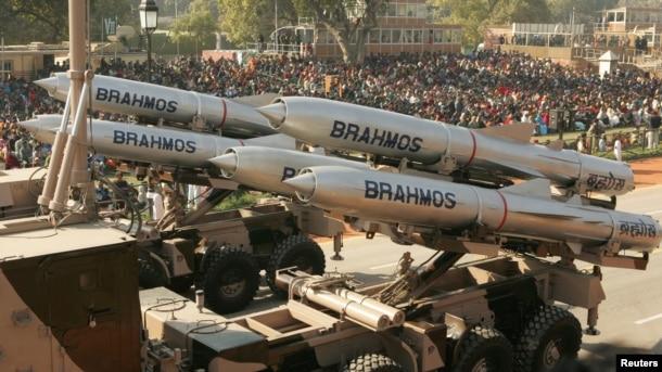 Tên lửa hành trình Brahmos.