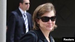 """La vocera del Departamento de Estado, Victoria Nuland, dijo que EE.UU. sigue de cerca las """"discusiones"""" entre venezolanos."""