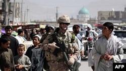 Binh sĩ NATO ở Afghanistan