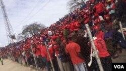 MDC Allaince rally in Sakubva, Mutare