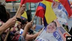 La segunda vuelta electoral en Ecuador fue fijada para el 2 de abril, de 2017.