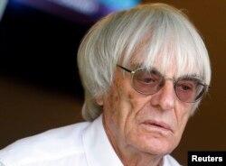 Ông Bernie Ecclestone, cựu giám đốc điều hành Công thức 1.