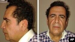 멕시코 마약조직 '벨트란 레이바'의 두목으로 추정되는 용의자 엑토르. 멕시코 수사당국이 공개한 사진.