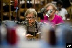 Pensilvaniya shtatidagi bosh kiyimlari fabrikasida