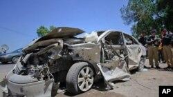 شمال مغربی پاکستان میں بم دھماکوں میں دو ہلاک، متعدد زخمی