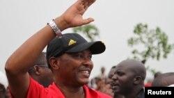 Freddy Mbonimpa, maire de Bujumbura, le 13 février 2016.
